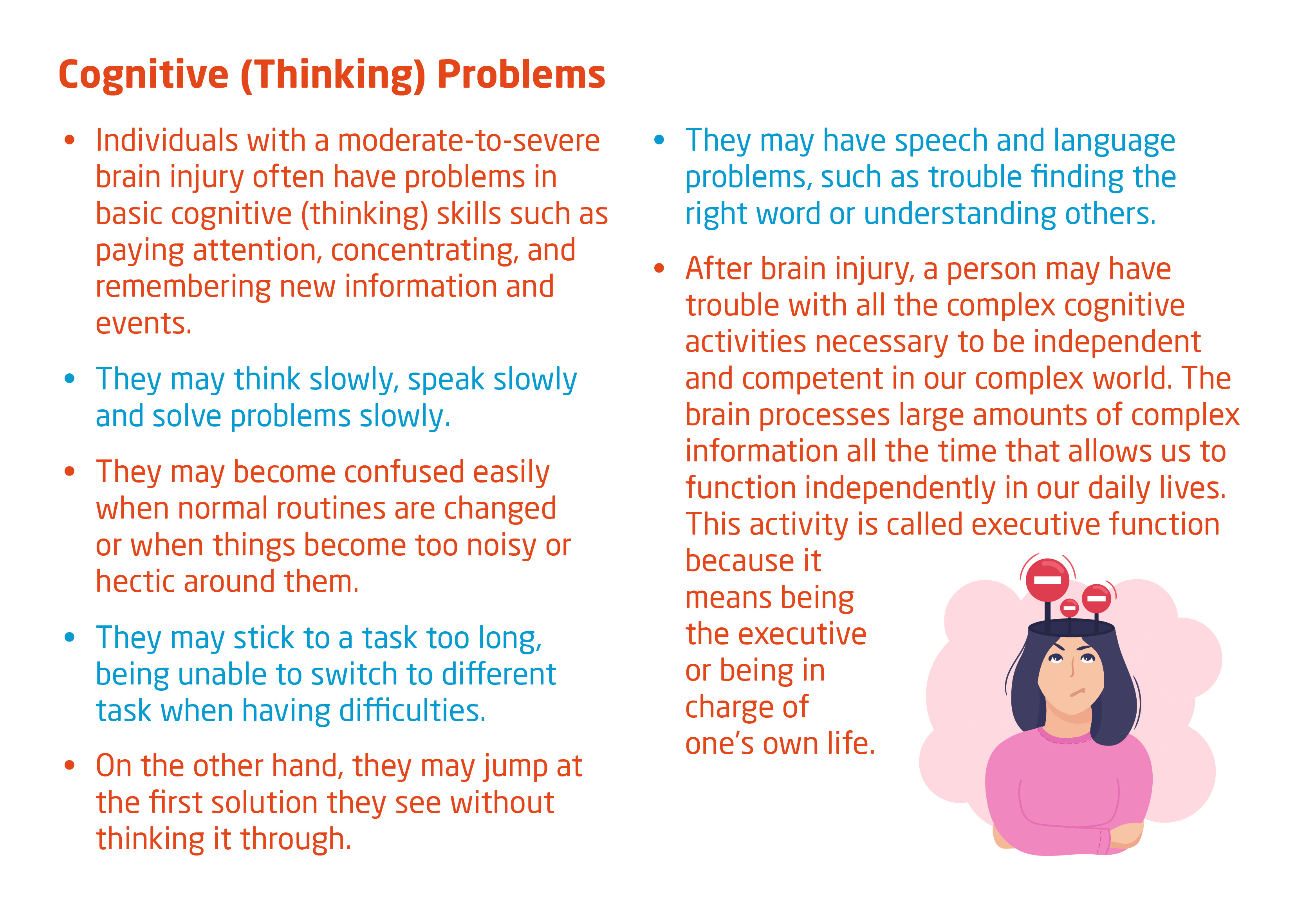cognitive thinking problems