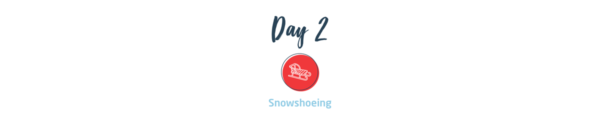 Day2 - Snowshoeing